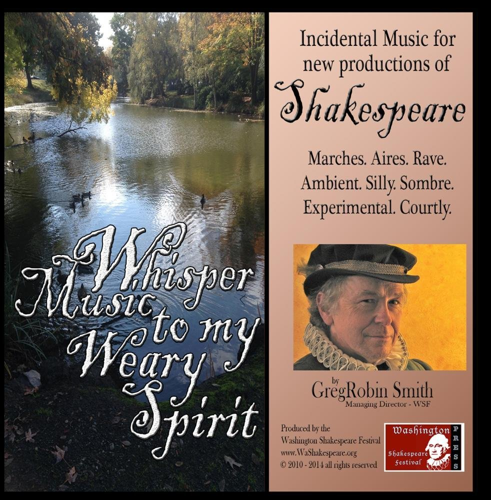 Whisper Music CD cover